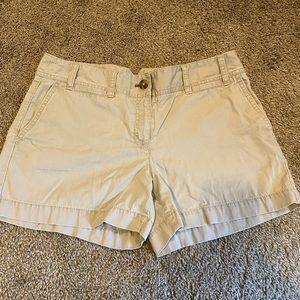 COPY - Ann Taylor LOFT Khaki Shorts